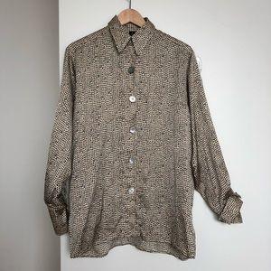Topshop Boutique Patterned Shirt
